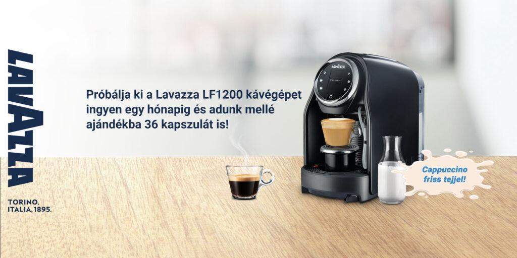 Lavazza LF1200 ingyenes kávégép kihelyezés